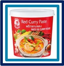 Cock Brand Red Curry Paste 400 gram