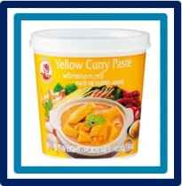 Cock Brand Yellow Curry Paste 400 gram