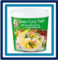 Cock Brand Green Curry Paste 400 gram