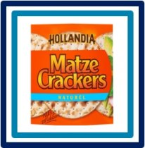 Hollandia  Matze Crackers Naturel 100 gram
