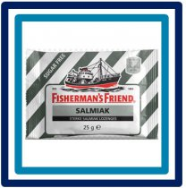 Fisherman's Friend Salmiak Sugar Free 25 gram