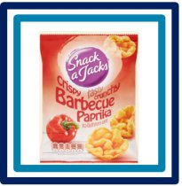 Snack a Jacks Barbecue Paprika 30 gram