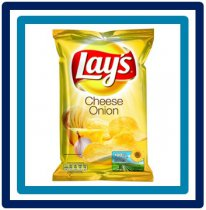 Lays Cheese Onion 170 gram