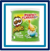 Pringles Sour Cream & Onion 40 gram