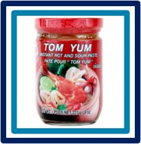 Cock Brand Tom Yum Instant Hot and Sour Paste 227 gram