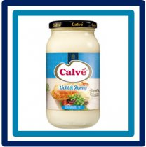 Calvé Mayonaise Licht & Romig Pot 450 ml