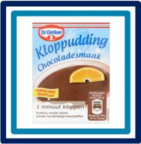 Dr.Oetker Kloppudding Chocoladesmaak 80 gram