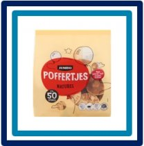 Jumbo Poffertjes Naturel 415 gram