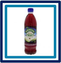 Robinsons Apple & Blackcurrant 0,9 liter